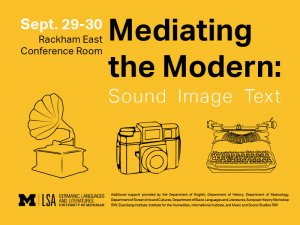 mediating the modern conference 9/29-30