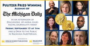 Pulitzer Prize-Winning Alumni