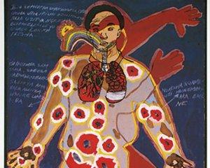 Image credit:  Nondumiso Hlwele, Body Map, 2002