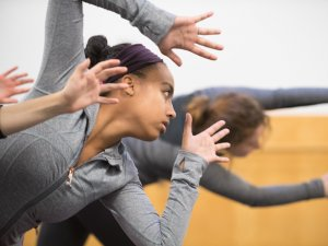 Dance Composition Class Showing