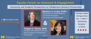 Faculty Forum on Outreach and Engagement