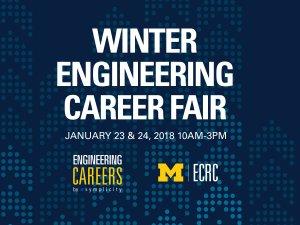 Winter 2018 Engineering Career Fair Logo