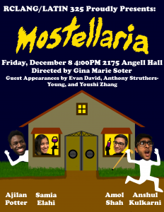 Mostellaria Poster