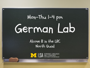 German Lab MTWTh 1-4 LRC