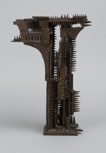 William Tarr, 'Study for Gates of the Six Million,' ca. 1980, bronze. University of Michigan Museum of Art, Bequest of Gertrude Kasle, 2016/2.113