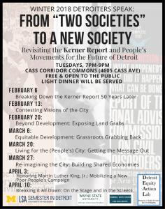 Winter 2018 Detroiters Speak Advertisement