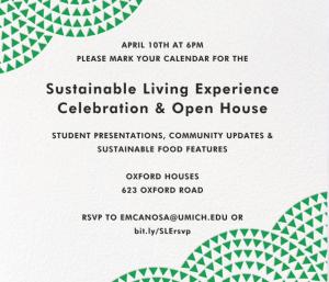 SLE Celebration & Open House Invitation