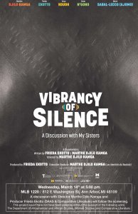 Movie poster for Vibrancy of Silence