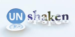UNshaken word graphic.