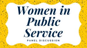 Women in Public Service