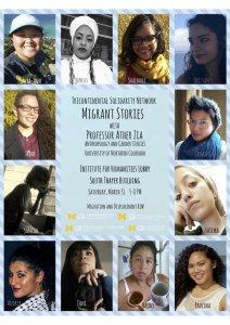 Migrant Stories Event details!