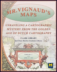 Vignaud map exhibit poster