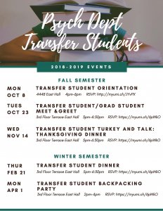 Transfer student series