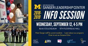 Sanger Info Session