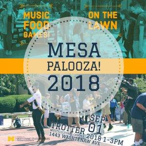 MESA-Palooza! Flyer