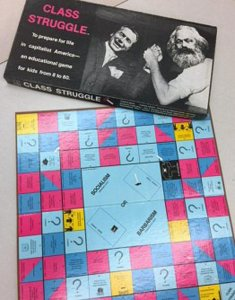 Class War board game from the Joseph A. Labadie Collection, Special Collections Research Center