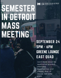 Mass Meeting Flyer