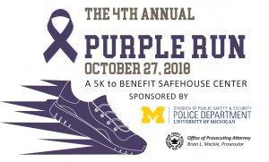 Purple Run 2018 logo