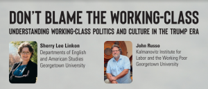 Don't blame the working-class