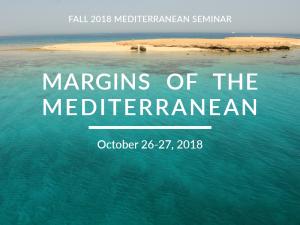 Margins of the Mediterranean