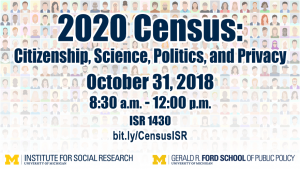 Census event flyer