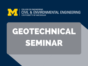 Geotechnical Seminar