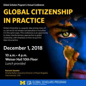 GSP Global Citizenship Conference- December 1, 2018