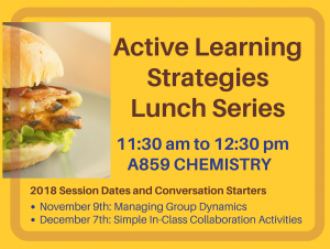 Active Learning Strategies Lunch Series