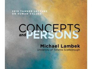 2018-2019 Tanner Lecture