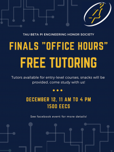 TBP - Finals Tutoring