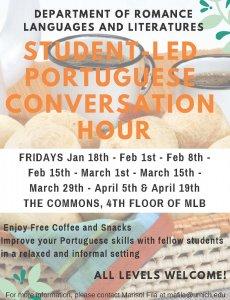 Conversation Hour flyer