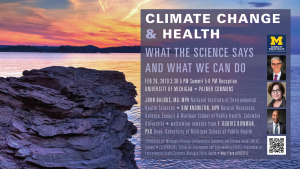 Climate Change & Health