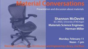 Materials conversation flyer