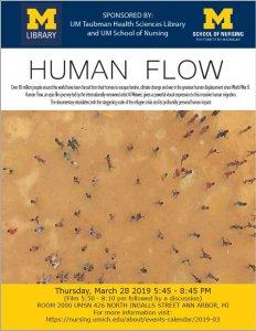 Human Flow Film Screening Poster