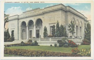 Postcard of the Clements Library