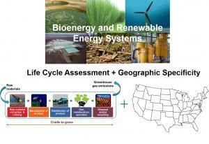 Geo-specific LCA of alternative energy