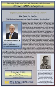 NERS Colloquium Flyer : Tom Mehlhorn