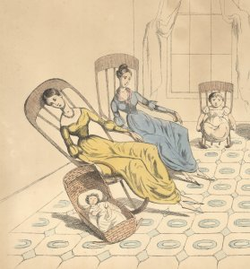 1830s Image of Mothers
