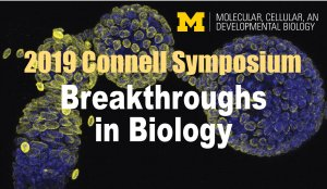 graphic announcement-connell symposium with microscopic tissue image
