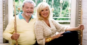 Sir James Galway with Lady Jeanne Galway