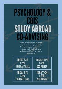 CGIS Psych flyer