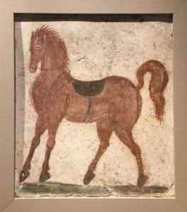 horse fresco