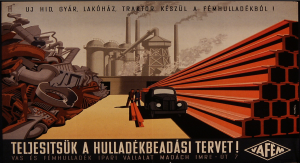 Hungarian industrial poster