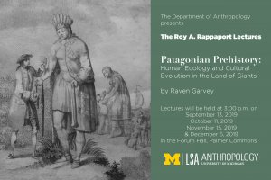 Fall 2019 Roy A. Rappaport Lectures