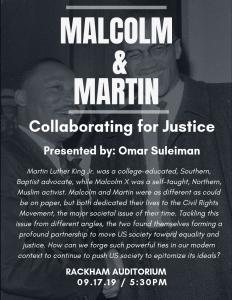 Malcolm & Martin