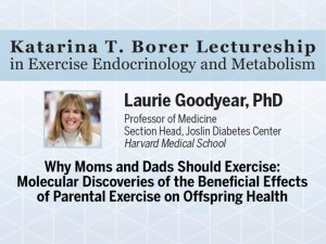 Borer Lectureship: Laurie Goodyear, PhD