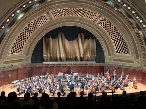 U-M Life Sciences Orchestra concert at Hill Auditorium