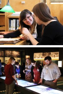Collaborative Research in the Holocaust students at the United States Holocaust Memorial Museum.