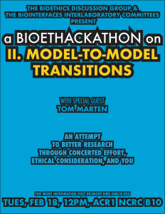 II. Model-to-Model-Transitions