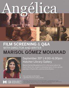 Angélica Film Screening and Q&A